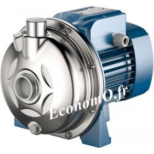 Pompe de Surface Pedrollo CPm 150-ST6 Inox 316 de 1,2 à 9 m3/h entre 31 et 14 m HMT Mono 220 230 V 0,75 kW IE3 - EconomO.fr