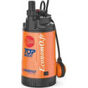 Pompe de Relevage Pedrollo TOP MULTI II de 1,2 à 4,8 m3/h entre 38 et 5 m HMT Mono 220/240 V 0,55 kW