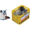 Kit d'Urgence Pedrollo PLUG et DRAIN avec TOP 2 FLOOR de 1,2 à 9,6 m3/h entre 8 et 1 m HMT Mono 220 240 V 0,37 kW - EconomO.fr