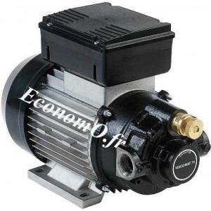Pompe Huile VISCOMAT 70 - 1,8 m3/h max Mono 230 V 1,2 kW - EconomO.fr - EconomO.fr