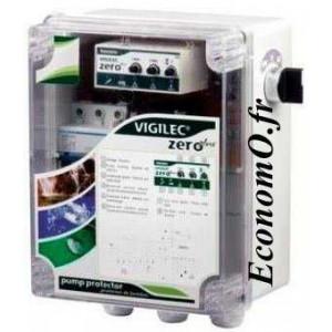Coffret de Commande et de Protection Pedrollo VIGILEC V1ZB Mono 230 V 2,2 kW maxi  - EconomO.fr