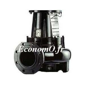 Hydraulique de Pompe Caprari K-KOMPACT KKM150L1322G W de 65 à 259 m3/h entre 15,2 et 6,1 m HMT Tri 400 V 7,5 kW - EconomO.fr