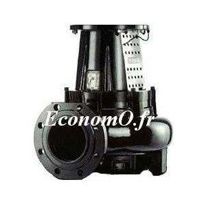 Hydraulique de Pompe Caprari K-KOMPACT KKM150L1322M W de 65 à 194 m3/h entre 12,1 et 5,1 m HMT Tri 400 V 5,5 kW - EconomO.fr