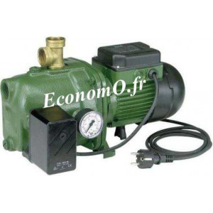 Pompe Pré-équipée Dab JET 82 M PRED de 0,6 à 3,6 m3/h entre 40 et 20 m HMT Mono 230 V 0,6 kW - EconomO.fr