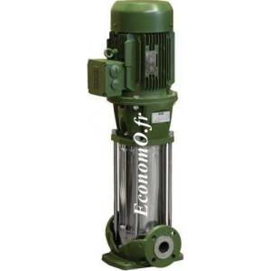 Pompe de Surface Dab NKV 20/5 T de 6 à 27 m3/h entre 71,9 et 45 m HMT Tri 400 V 5,5 kW - EconomO.fr