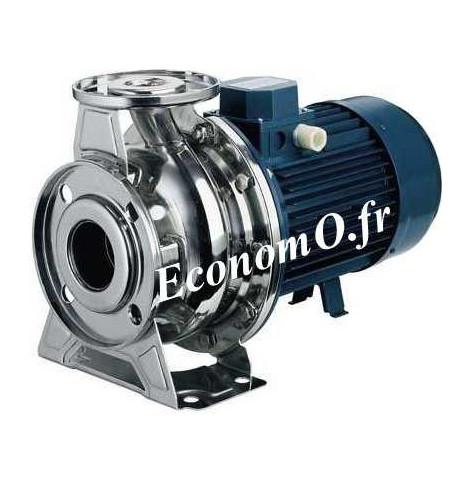 Pompe de Surface Ebara SERIE 3M/I 65-125/7,5 Inox 304 de 42 à 132 m3/h entre 29,5 et 12 m HMT TRI 400/690 V 7,5 kW - EconomO.fr