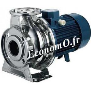 Pompe de Surface Ebara SERIE 3M 40-125/1,5M Inox 304 de 12 à 42 m3/h entre 19 et 7 m HMT Mono 230 V 1,5 kW  - EconomO.fr