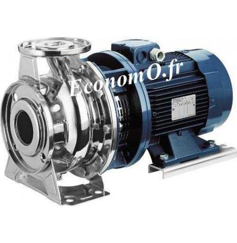 Pompe de Surface Ebara SERIE 3S/I 65-200/15 IE3 Inox 304 de 42 à 132 m3/h entre 51 et 30 m HMT Tri 400/690 V 15 kW  Moteur Norma