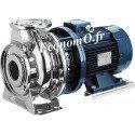 Pompe de Surface Ebara SERIE 3S/I 65-160/15 IE3 Inox 304 de 42 à 138 m3/h entre 45,5 et 26,5 m HMT Tri 400/690 V 15 kW  Moteur N