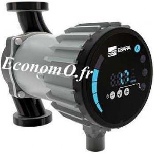 Circulateur Ebara Ego easy 32-120 Fonte de 2 à 10 m3/h entre 11,5 et 1,5 m HMT Mono 230 V 0,18 kW - EconomO.fr