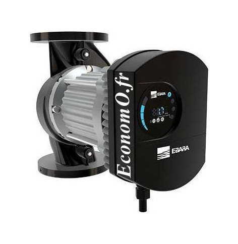 Circulateur Ebara Ego C 100 Fonte de 7 à 60 m3/h entre 13,5 et 3,5 m HMT Mono 230 V 1,6 kW - EconomO.fr