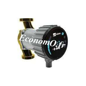 Circulateur Bronze Ebara Ego B easy 25-60 de 2 à 8 m3/h entre 6 et 0,9 m HMT Mono 230 V 90 W - EconomO.fr