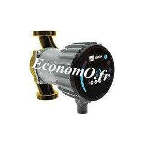 Circulateur Bronze Ebara Ego B easy 25-100 de 2 à 10 m3/h entre 10 et 1,5 m HMT Mono 230 V 0,18 kW - EconomO.fr
