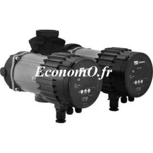 Circulateur Double Ebara Ego TC easy 32-60 Fonte de 2 à 8 m3/h entre 6 et 0,9 m HMT Mono 230 V 90 W - EconomO.fr