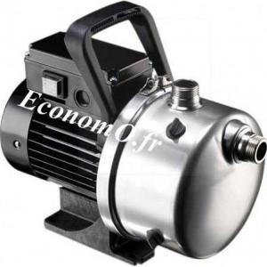 Pompe de Surface Grundfos JP5 TRI de 1 à 3,5 m3/h entre 35 et 20 m HMT Tri 400 V 0,78 kW - EconomO.fr