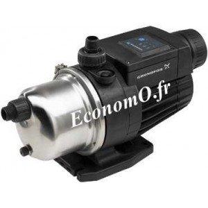 Pompe de Surface Grundfos MQ 3-45 de 1 à 3 m3/h entre 38 et 23 m HMT Mono 230 V 1 kW - EconomO.fr