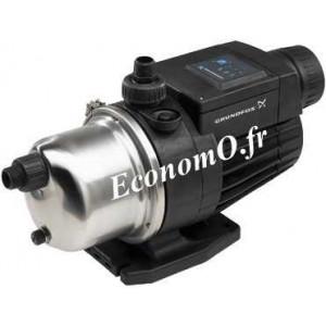 Pompe de Surface Grundfos MQ 3-35 de 1 à 3 m3/h entre 30 et 18 m HMT Mono 230 V 0,85 kW - EconomO.fr