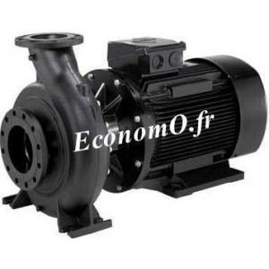 Pompe de Surface Grundfos NB 65-160-157 de 60 à 130 m3/h entre 32,5 et 24 m HMT Tri 400 V 11 kW - EconomO.fr