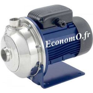 Pompe de Surface Lowara CEAM 210/5 de 7,2 à 18 m3/h entre 28,2 et 23,1 m HMT Mono 230 V 1,85 kW - EconomO.fr