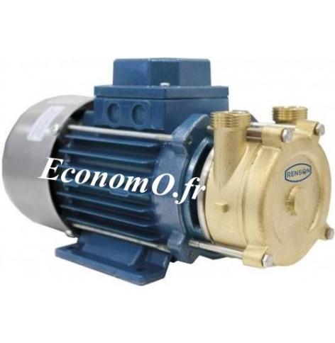 Pompe Monocellulaire Bronze Renson ECC24/25 de 0,6 à 3 m3/h entre 14 et 3 m HMT 24 V - EconomO.fr