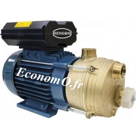 Pompe Monocellulaire Bronze Renson ENM40 de 0,6 à 7,8 m3/h entre 16 et 1 m HMT Mono 230 V 0,88 kW - EconomO.fr