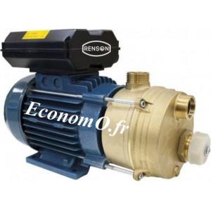 Pompe Monocellulaire Bronze Renson ENT25 de 0,6 à 2,4 m3/h entre 10 et 1 m HMT Tri 380 V 0,44 kW - EconomO.fr