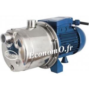 Pompe Multicellulaire Horizontale Renson NPU152TP de 0,6 à 4,8 m3/h entre 51 et 21 m HMT Tri 380 V 0,88 kW - EconomO.fr