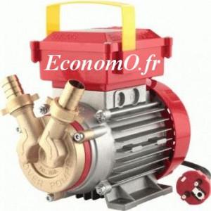 Pompe de Surface Alimentaire Rover BE - M 20 de 0,24 à 1,62 m3/h entre 20 et 2 m HMT Mono 230 V 0,34 kW - EconomO.fr