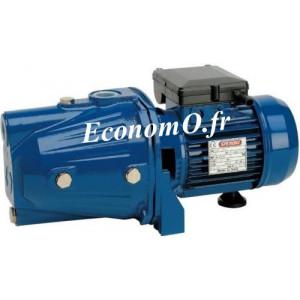 Pompe de Surface Speroni CA 100 Fonte de 0,6 à 3,6 m3/h entre 45 et 22 m HMT Tri 400 V 0,75 kW - EconomO.fr