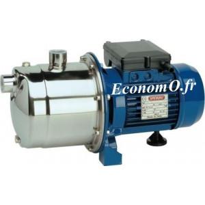 Pompe de Surface Speroni CAM 198 Inox de 0,6 à 4,8 m3/h entre 56 et 25 m HMT Mono 230 V 1,1 kW - EconomO.fr