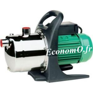 Pompe de Surface Speroni CAM 98 PA Inox avec Poignée de 0,6 à 4,2 m3/h entre 47 et 26 m HMT Mono 230 V 1 kW - EconomO.fr