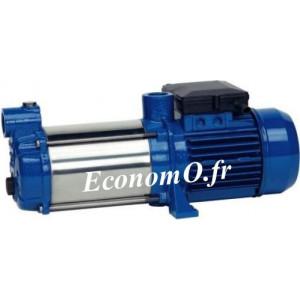 Pompe de Surface Speroni RAM 40 Inox de 0,6 à 9,6 m3/h entre 49 et 15 m HMT Mono 230 V 1,5 kW - EconomO.fr
