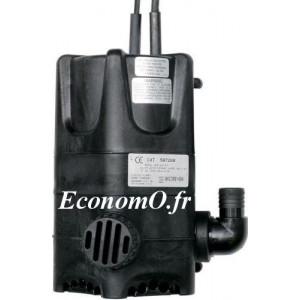 Pompe de Bassin WGP 55 Calpeda 1 a 3 m3/h entre 4,4 et 1,7 m HMT MONO 230 V 0,22 kW - EconomO.fr