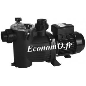 Pompe de Piscine Ebara SWS 75 M de 2 à 16 m3/h entre 15 et 4 m HMT Mono 230 V 0,55 kW  - EconomO.fr - EconomO.fr