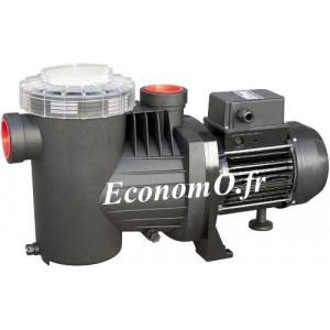 Pompe de Piscine Ebara SWT 75 M de 7,9 à 19,5 m3/h entre 14 et 4 m HMT Mono 230 V 0,55 kW  - EconomO.fr - EconomO.fr