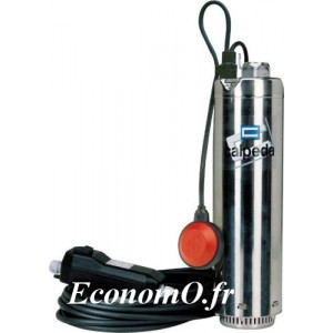 Pompe de Puits Immergee MXSM 305-CG QM Calpeda 1 a 4,5 m3/h entre 49,5 et 19 m HMT MONO 230 V 0,75 kW - EconomO.fr