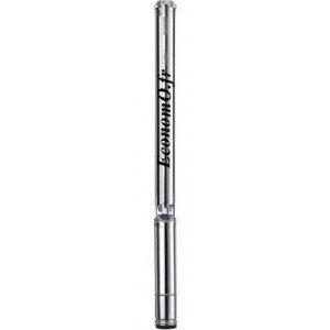 """Pompe Immergée Caprari 4"""" Inox E4XP15/50m energy 0,36 à 1,62 m3/h entre 284 et 107 m HMT Mono 230 V 1,5 kW - EconomO.fr"""