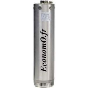 """Pompe Immergée Salmson 5"""" AQUASON-506-M 1 à 7 m3/h entre 65 et 29 m HMT Mono 230 V 1,1 kW - EconomO.fr"""
