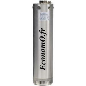 """Pompe Immergée Salmson 5"""" AQUASON-504-M 1 à 7 m3/h entre 43 et 19 m HMT Mono 230 V 0,75 kW - EconomO.fr"""