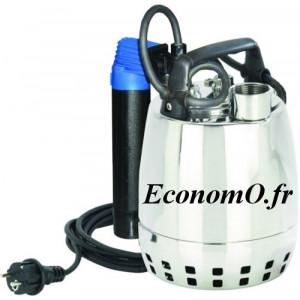 Pompe de Drainage GXRM 11 GF Calpeda 3 a 12 m3/h entre 9,5 et 2,2 m HMT MONO 230 V 0,37 kW Flotteur Magnetique - EconomO.fr