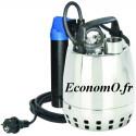 Pompe de Drainage GXRM 9 GF Calpeda 3 a 10,2 m3/h entre 7 et 1,7 m HMT MONO 230 V 0,25 kW Flotteur Magnetique - EconomO.fr
