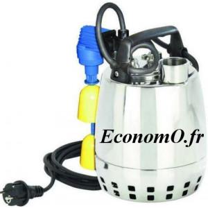Pompe de Drainage GXRM 11 GFA Calpeda 3 à 12 m3/h entre 9,5 et 2,2 m HMT MONO 230 V 0,37 kW Flotteur Magnétique - EconomO.fr