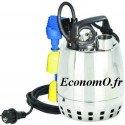 Pompe de Drainage GXRM 11 GFA Calpeda 3 à 12 m3/h entre 9,5 et 2,2 m HMT MONO 230 V 0,37 kW Flotteur Magnétique