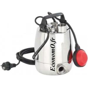 Pompe de Drainage GXR-RM 13 Calpeda de 3 à 12 m3/h entre 10,4 et 1,8 m HMT Mono 230 V 0,45 kW - EconomO.fr