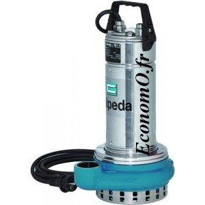 Pompe de Drainage GQR 10-10 Calpeda a Roue Ouverte 3 a 18 m3/h entre 9,5 et 3 m HMT TRI 400 V 0,45 kW - EconomO.fr