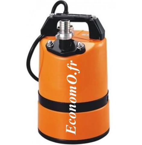 Pompe Serpillière Calpeda LSC1 - 4S Roue Semi-Vortex 2,4 à 10 m3/h entre 9,6 et 2 m HMT MONO 230 V 0,48 kW - EconomO.fr