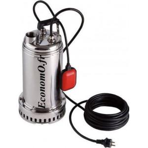 Pompe de Drainage Dab DRENAG 1000 T de 3 à 21 m3/h entre 13,7 et 2,4 m HMT Tri 400 V 1 kW - EconomO.fr