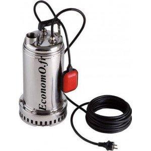 Pompe de Drainage Dab DRENAG 1200 M de 3 à 23 m3/h entre 15,4 et 3,5 m HMT Mono 230 V 1,2 kW - EconomO.fr
