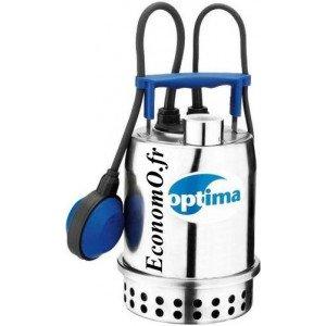 Pompe Vide Cave Ebara OPTIMA MA-QQV 1,2 à 9 m3/h entre 7 et 1,5 m HMT Mono 230 V 0,25 kW avec Flotteur - EconomO.fr