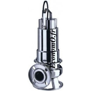 Pompe de Relevage Ebara DWF M 100 de 6 à 36 m3/h entre 10,6 et 2,6 m HMT Mono 230 V 0,75 kW  - EconomO.fr